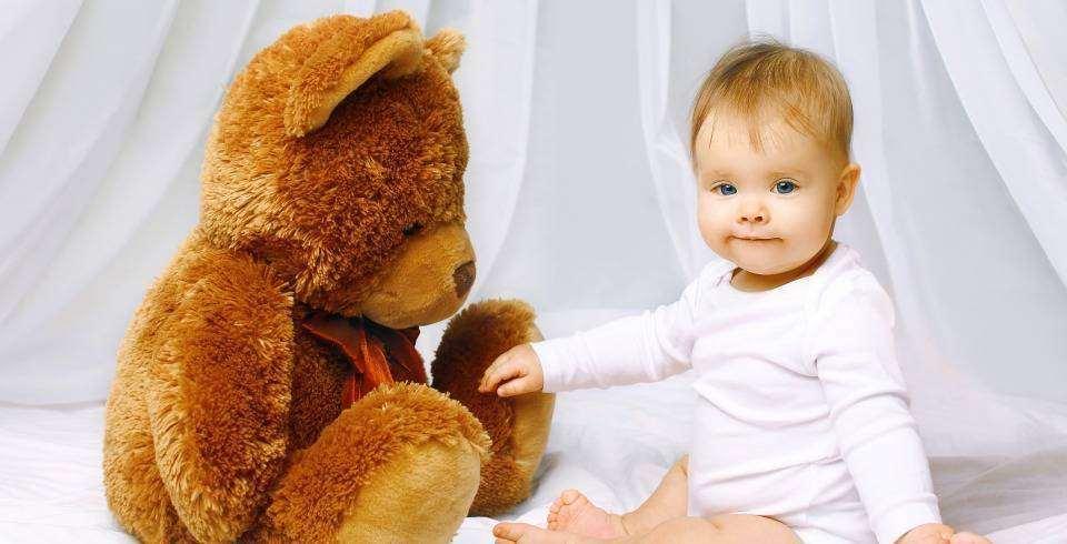 Reintoarcerea mamei la serviciu: bebe cu ursulet